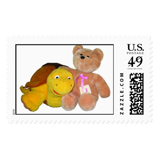 Friends Forever Postage Stamp
