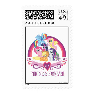 Friends Forever Postage Stamps