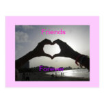 Friends Forever Postcard