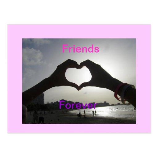 Friends Forever Postcard