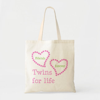 Friends Forever Twins For Life Tote Bag