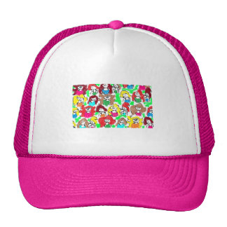 FRIENDS, FRENEMIES, ENEMIES, ALL TOGETHER HAT