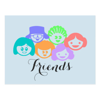 """Friends"" Friendship, Postcard. Postcard"