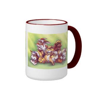 Friends from Pet Shop II Ringer Coffee Mug