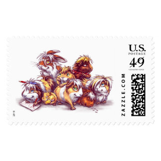 Friends from Pet Shop Postage Stamp