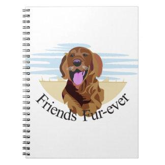Friends Fur-Ever Notebook