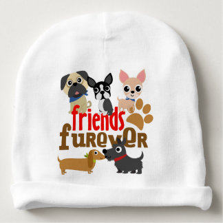 Friends Furever Dogs Puppies Baby Beanie