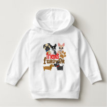 Friends Furever Dogs Puppies Hoodie