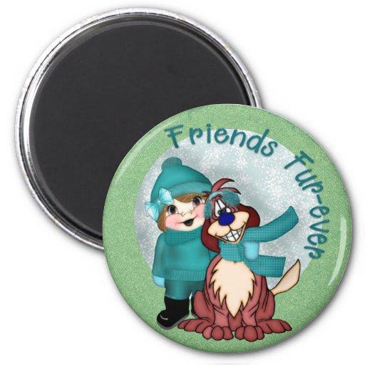 Friends Furever Magnet