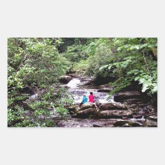 Friends Great Smoky Mountains National Park Rectangular Sticker