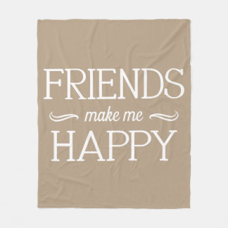 Friends Happy Blanket - Assorted Sizes & Colors