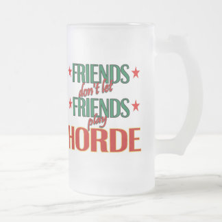 Friends Horde Frosted Mug