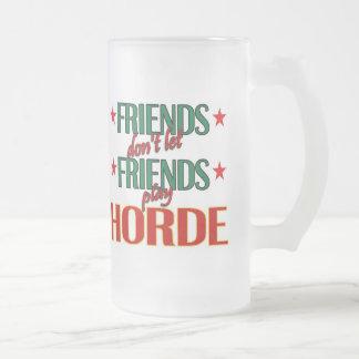 Friends Horde Frosted Mug