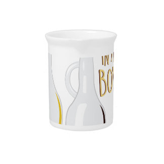 Friends In Bowl Drink Pitcher