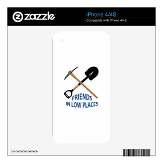 Friends In Low Places Skins For iPhone 4S
