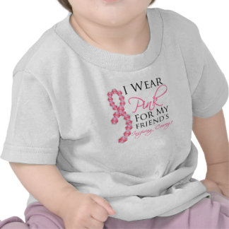 Friend's Inspiring Courage - Breast Cancer Shirts