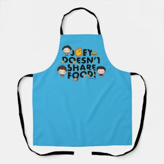 FRIENDS™ | Joey Doesn't Share Food Chibi Apron