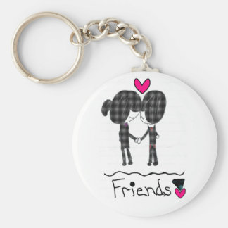 Friends Key Chain