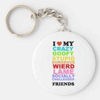 friends keychain