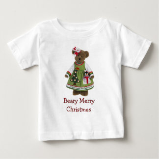Friends Make the Best Gifts Beary Merry Christmas Baby T-Shirt
