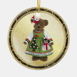 Friends Make The Best Gifts Teddy Bear Ornament