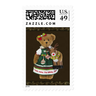 Friends Make the Holiday Sparkle Bear Stamps