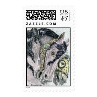 'Friends' Merry-Go-Round US Postage Stamp