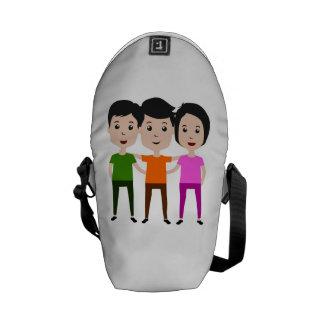 Friends Messenger Bags