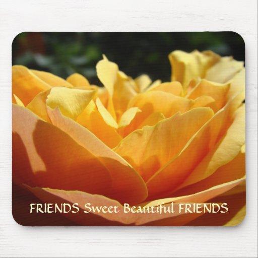 FRIENDS Mousepad Gift Friendship Customize Text