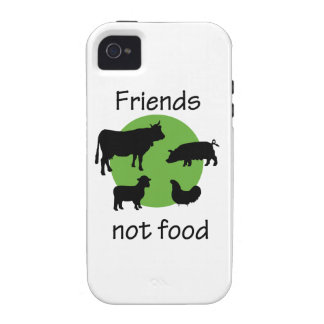 Friends, Not Food Vibe iPhone 4 Case