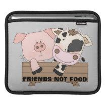 Friends Not Food iPad Sleeve