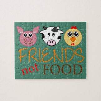 Friends Not Food Jigsaw Puzzle