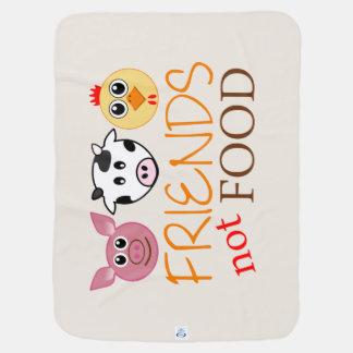 Friends, Not Food Receiving Blanket