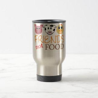 Friends Not Food Travel Mug