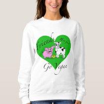 Friends not food Vegan Sweatshirt