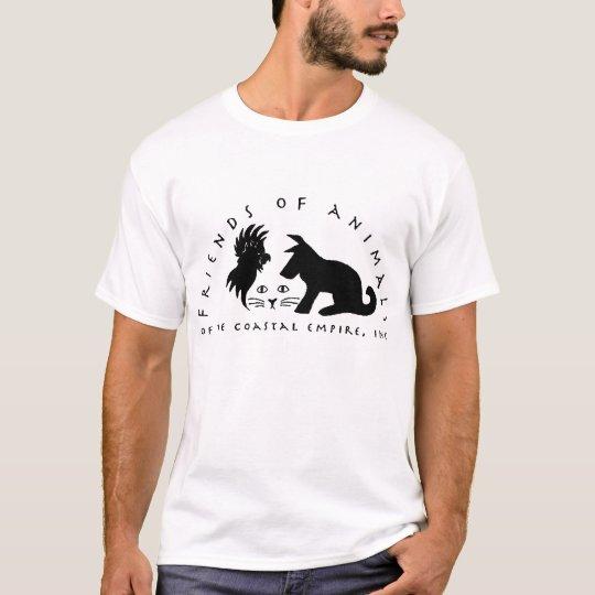 Friends of Animals Logo T-Shirt