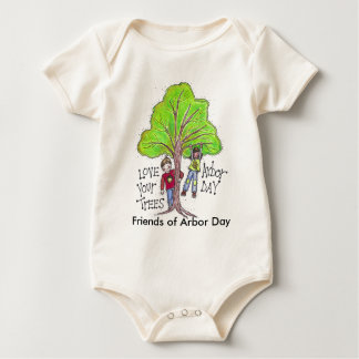 Friends of Arbor Day version 1 Baby Bodysuit