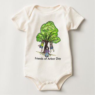 Friends of Arbor Day version 2 Baby Bodysuit