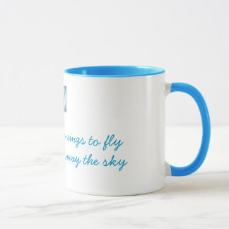 Friends of Bill W.:  Alcohol gave me wings Mug