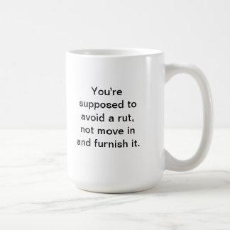 Friends of Bill W. Rut Classic White Coffee Mug