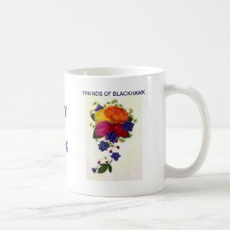 Friends Of Blackhawk Classic White Coffee Mug