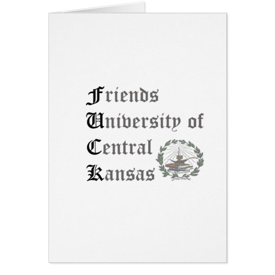 Friends of Central Kansas Card