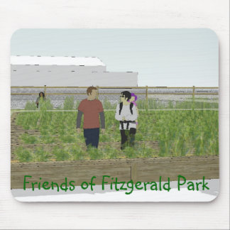 Friends of Fitzgerald Park Mouse 2 Mouse Pad