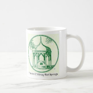 Friends Of Gilroy Hot Springs Classic White Coffee Mug