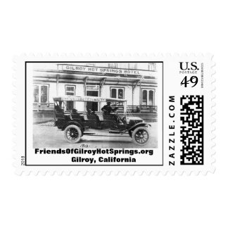 Friends Of Gilroy Hot Springs postage stamp 1