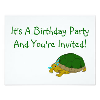 Friends of Gulf Branch Birthday party invitation (