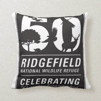 Friends of RNWR 50th Anniversary Throw Pillow