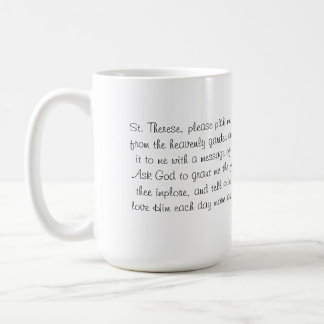 FRIENDS OF ST. THERESE MUG