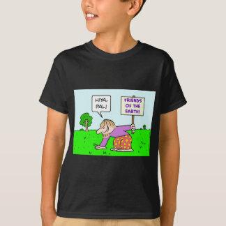 friends of the earth hiya pal pat T-Shirt