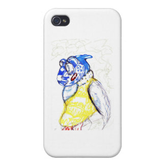 Friends of the feather case for iPhone 4